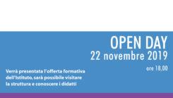 Venerdì 22/11/2019 Open day e aperitivo