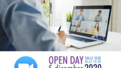 Aperte iscrizioni Open day 5 dicembre 2020