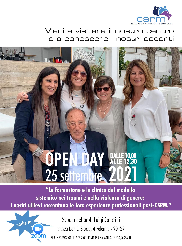 Aperte iscrizioni Open day 25 settembre 2021